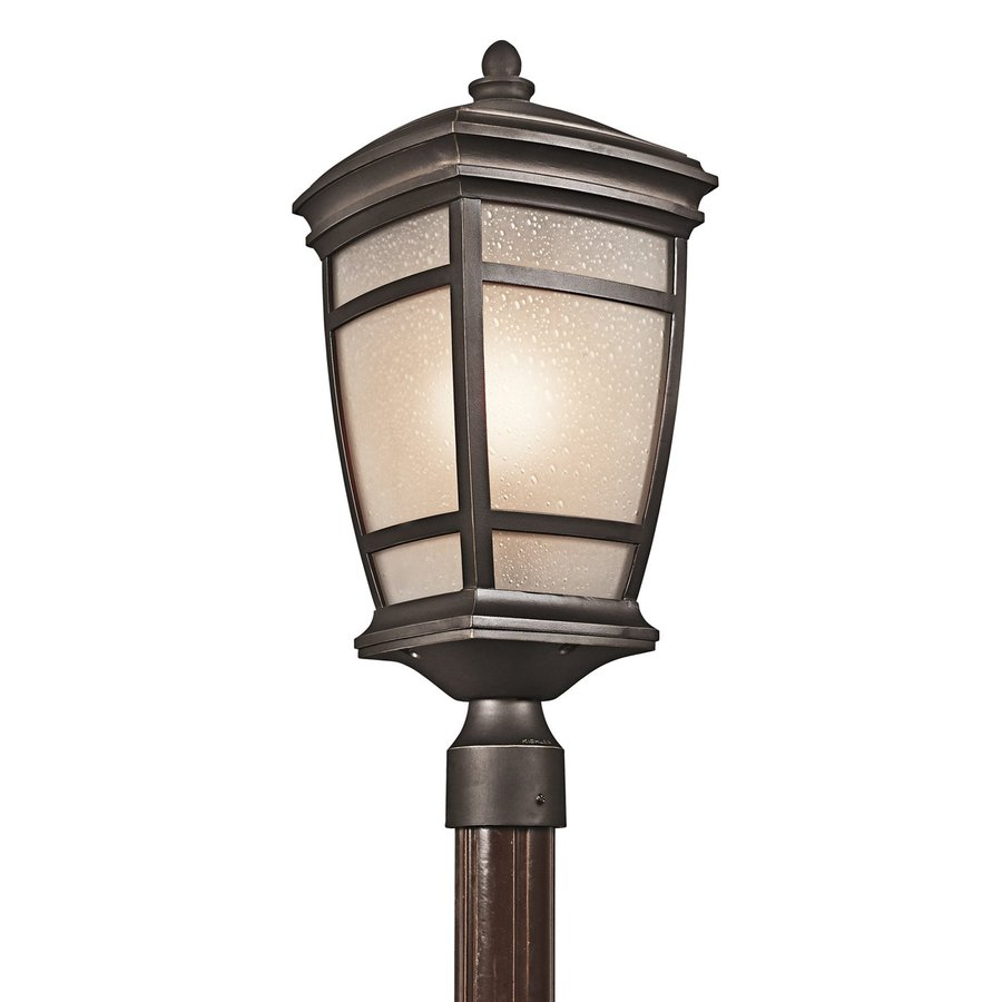 Kichler Mcadams 22.25-in H Rubbed Bronze Post Light