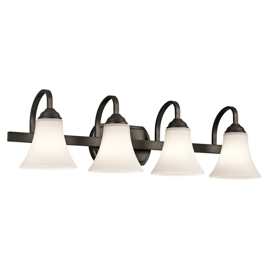 Kichler Keiran 4-Light 8.25-in Olde Bronze Bell Vanity Light