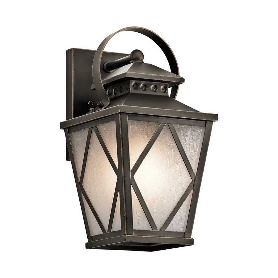 Kichler Lighting Hayman Bay 13.25-in H Olde Bronze Outdoor Wall Light