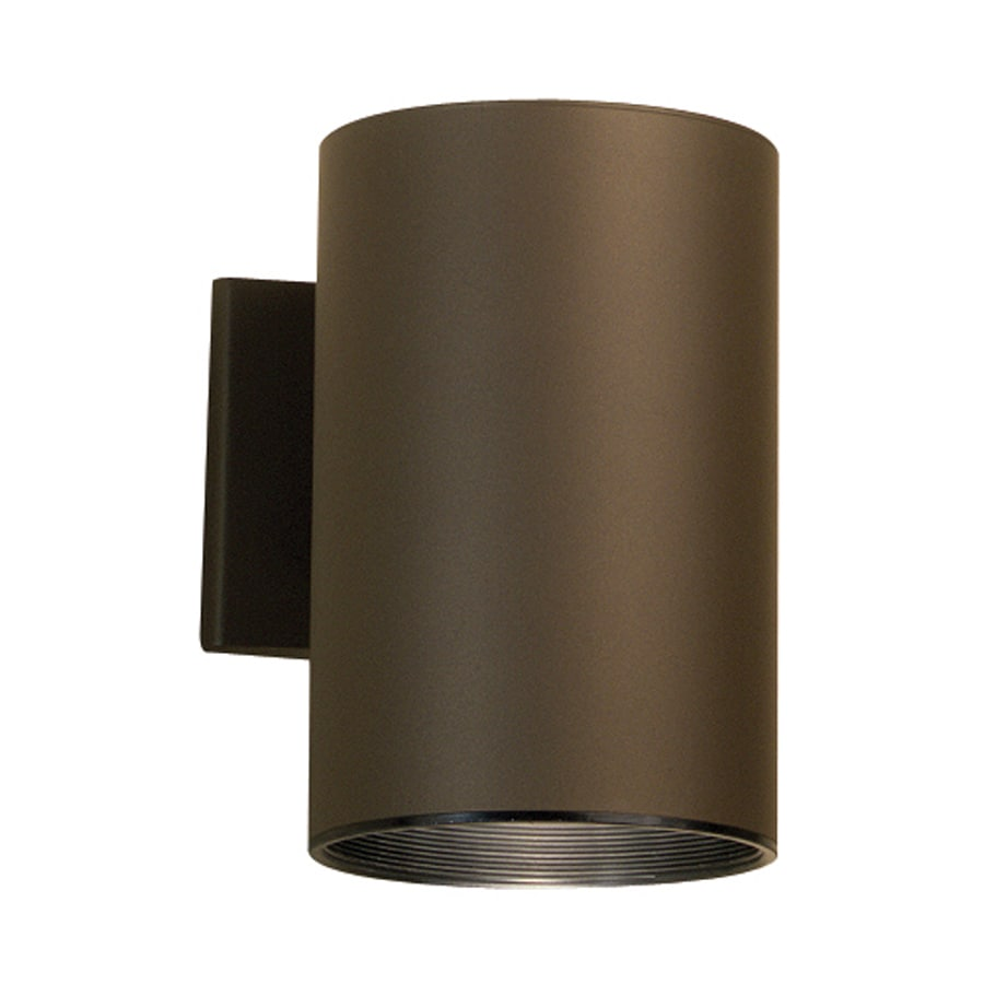 Shop Kichler 7.75-in H Architectural Bronze Dark Sky Outdoor Wall Light at Lowes.com
