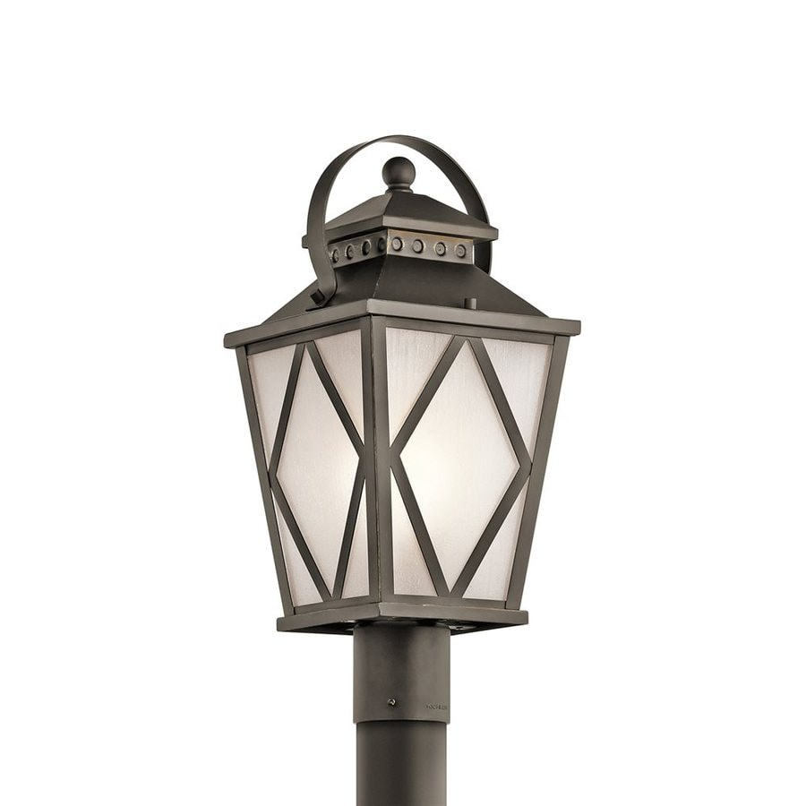 Kichler Lighting Hayman Bay 19.75-in H Olde Bronze Post Light