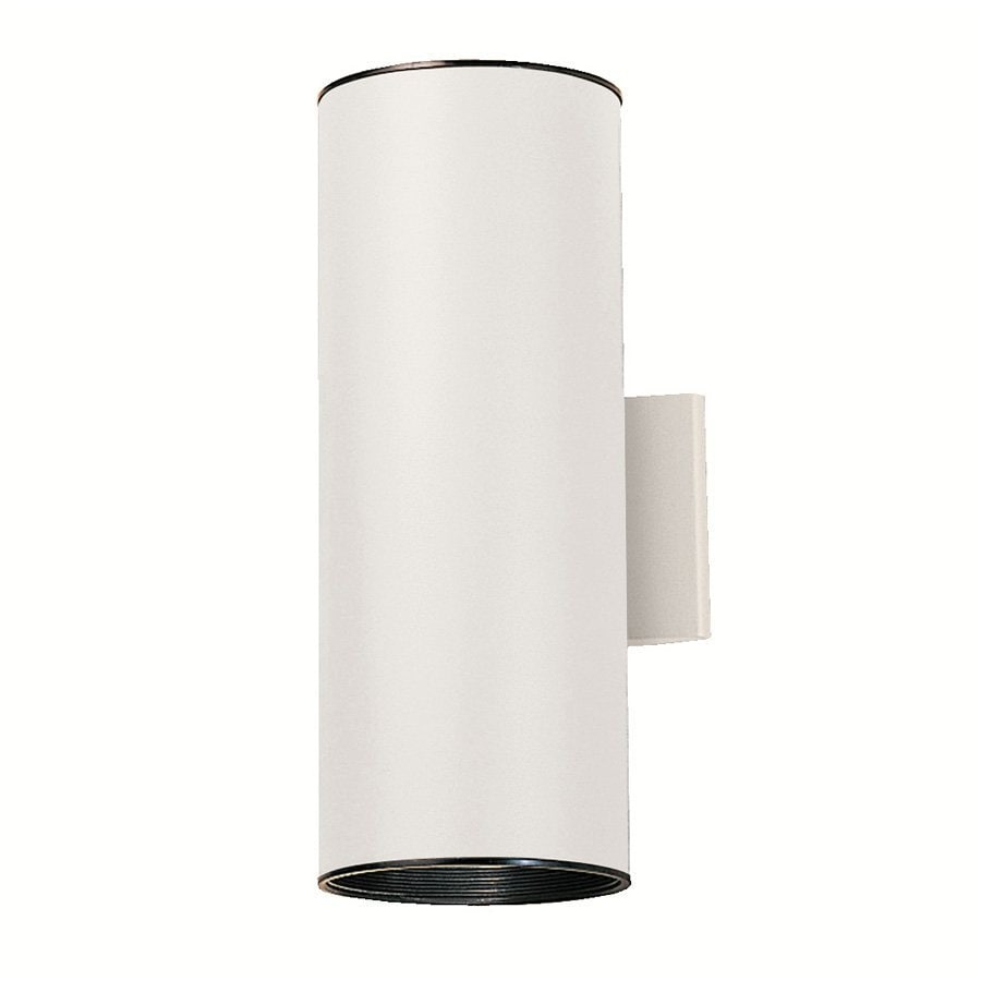 Kichler 15-in H White Outdoor Wall Light
