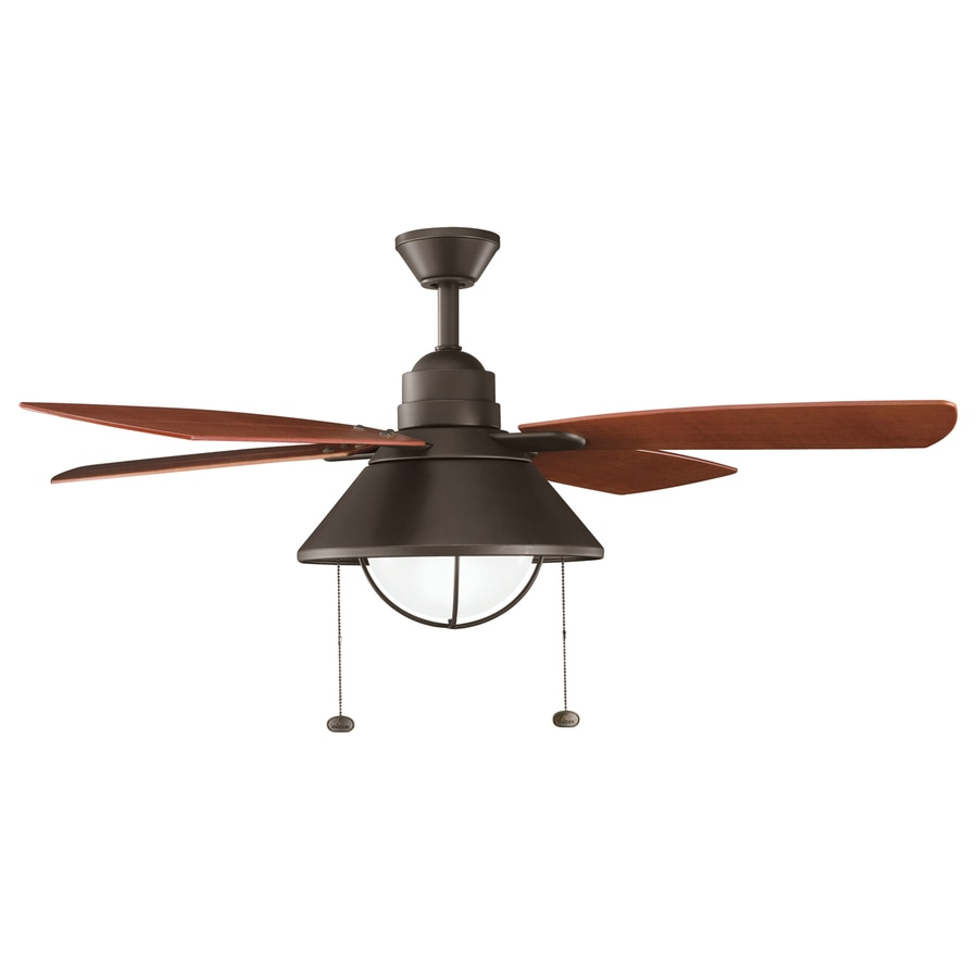 outdoor residential ceiling fan with light kit 4 blade at. Black Bedroom Furniture Sets. Home Design Ideas