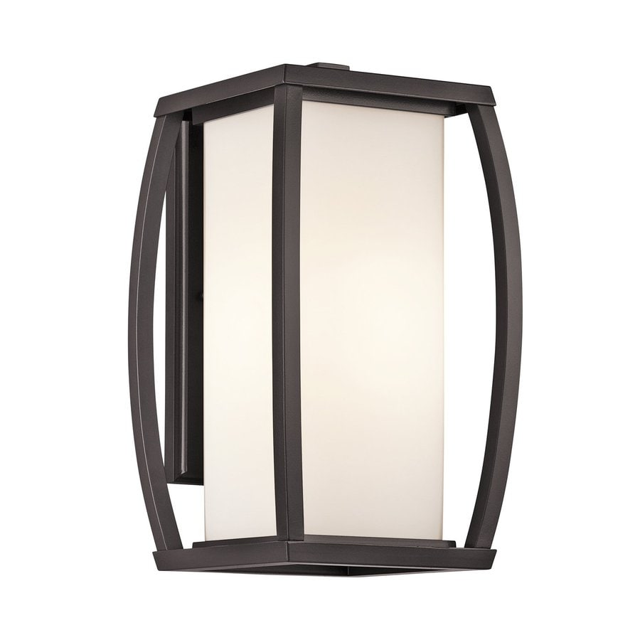 Kichler Lighting Bowen 15.75-in H Architectural Bronze Outdoor Wall Light