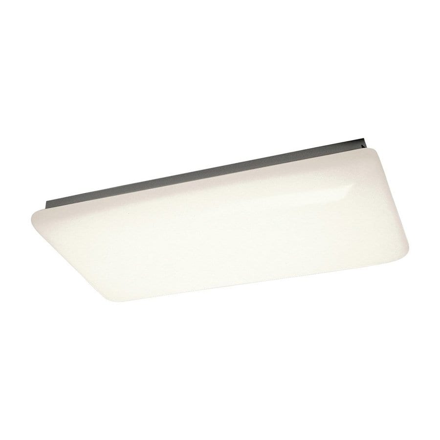 Kichler White Flush Mount Fluorescent Light ENERGY STAR (Common: 4-Ft; Actual: 51.5-in)