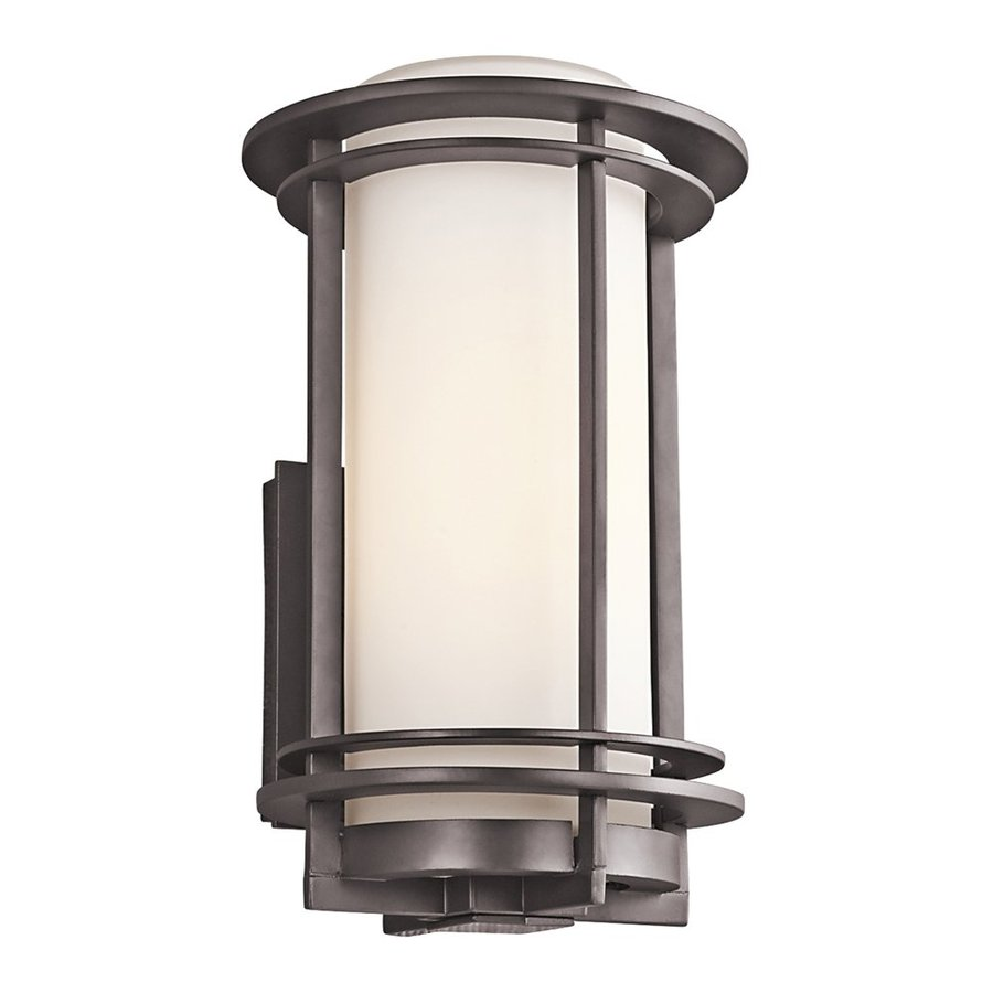 Kichler Lighting Pacific Edge 13.25-in H Architectural Bronze Outdoor Wall Light
