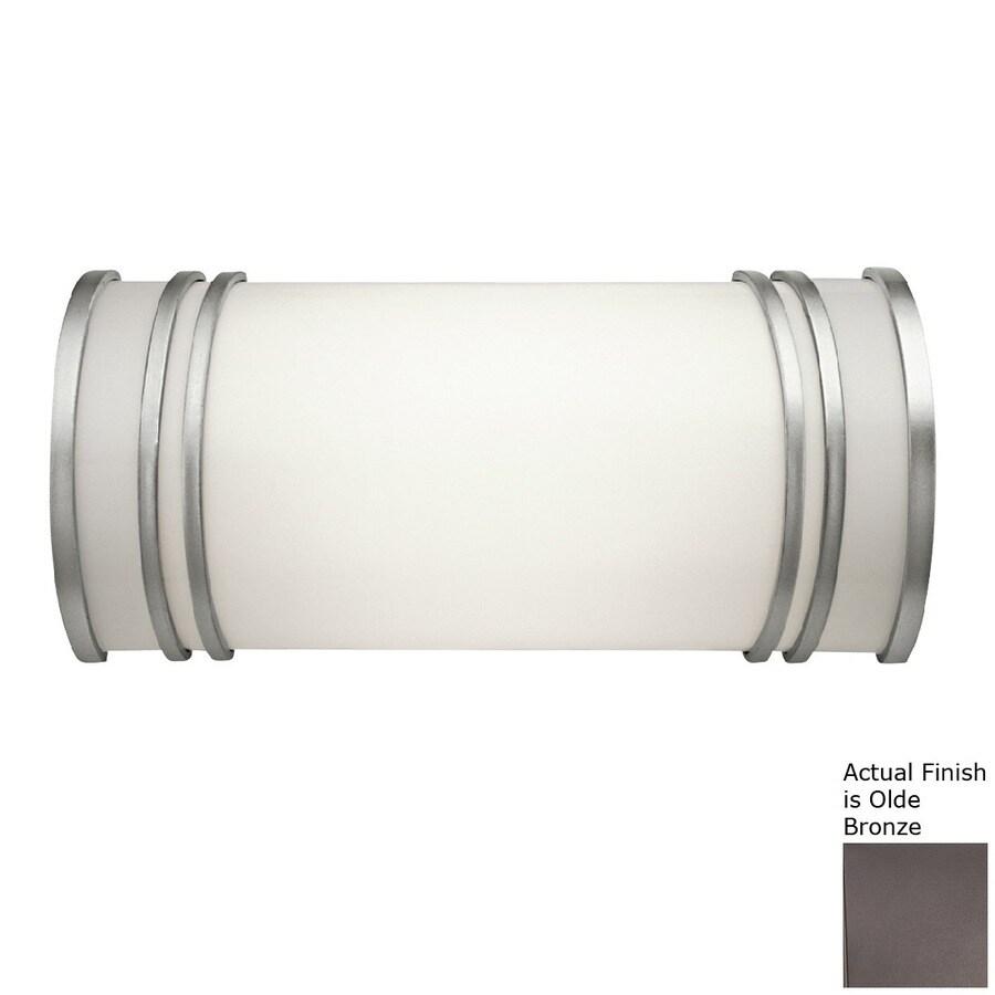 Kichler Lighting 1-Light Olde Bronze Cylinder Vanity Light Bar
