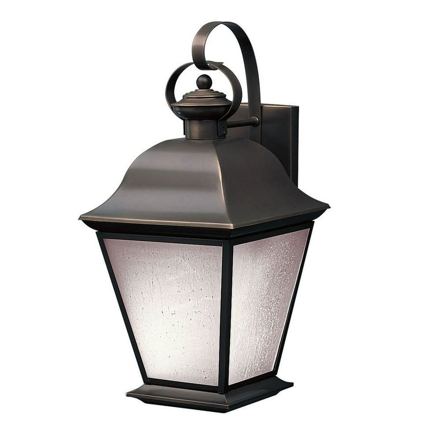 Kichler Mount Vernon 19.5-in H Olde Bronze Outdoor Wall Light