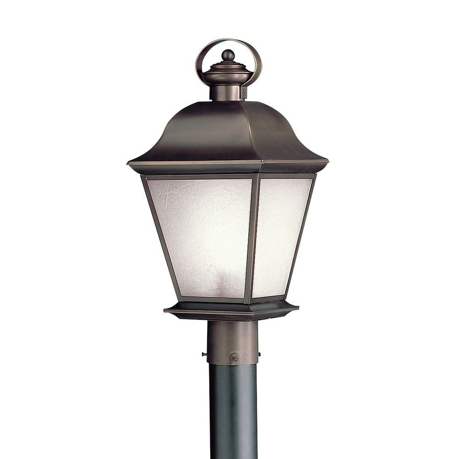 Kichler Lighting Mount Vernon 21.25-in H Olde Bronze Post Light