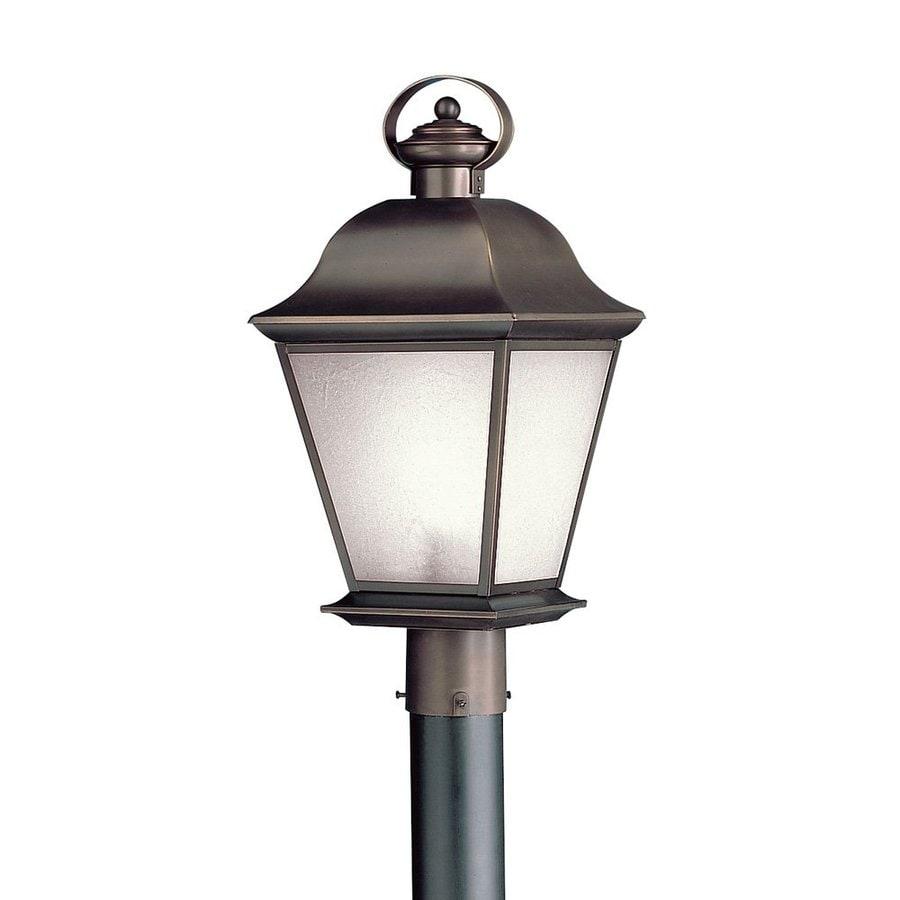 Kichler Mount Vernon 21.25-in H Olde Bronze Post Light