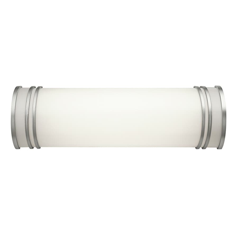 Kichler 1-Light 5.75-in White Cylinder Vanity Light Bar