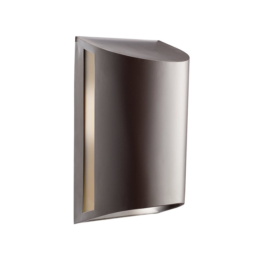 Kichler Salisbury 12-in H Architectural Bronze Dark Sky Outdoor Wall Light