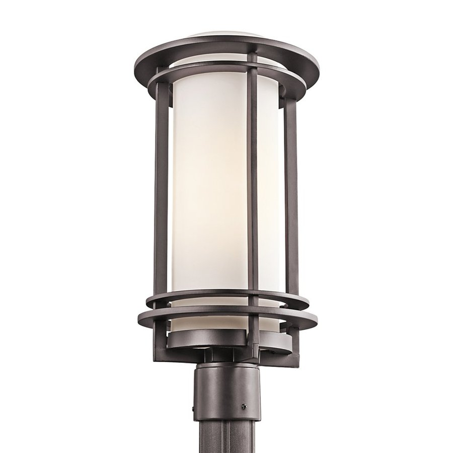 Kichler Pacific Edge 19-in H Architectural Bronze Post Light