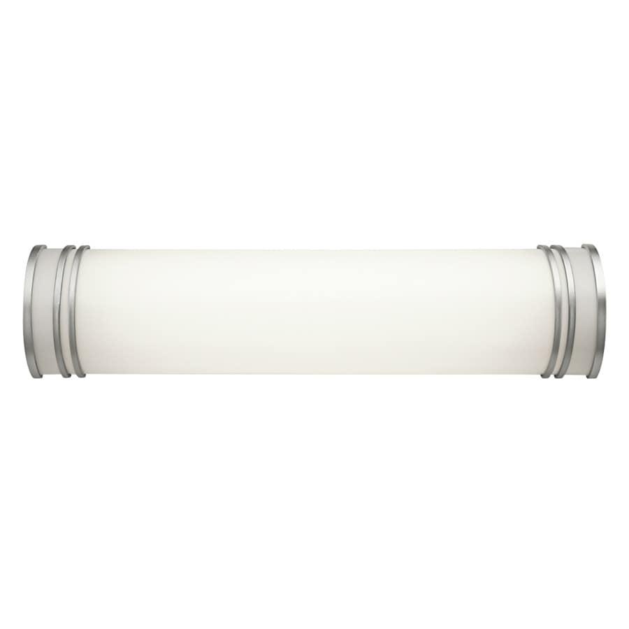 Kichler Lighting 1-Light 5.75-in White Cylinder Vanity Light Bar