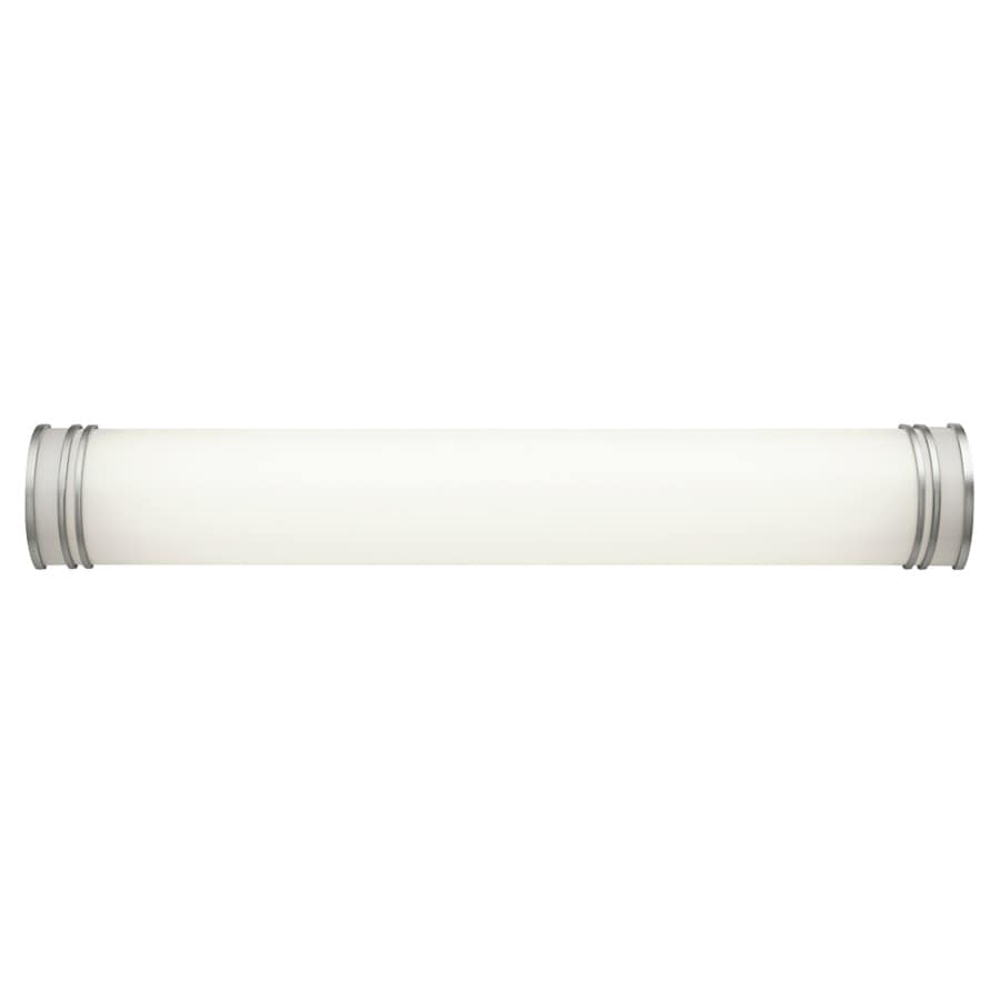 Kichler Lighting 1-Light 5.75-in White Cylinder Vanity Light Bar