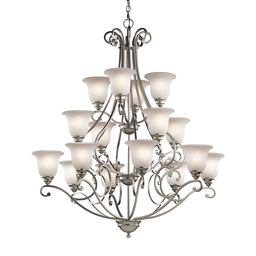 Shop Kichler Camerena 45 In 16 Light Brushed Nickel