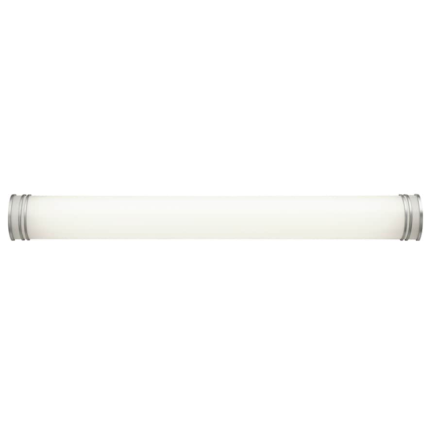 Vanity Light Bar Lowes : Shop Kichler 1-Light 5.75-in White Cylinder Vanity Light Bar at Lowes.com