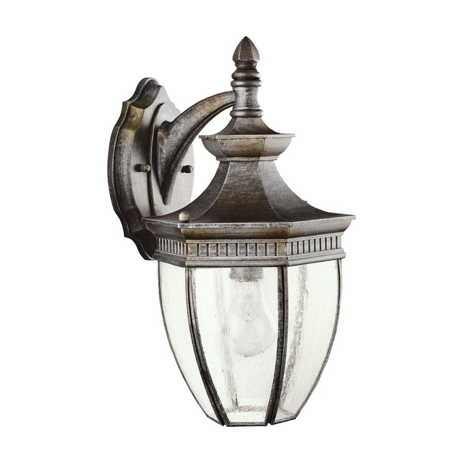 Kichler Warrington 16-in H Tannery Bronze Outdoor Wall Light