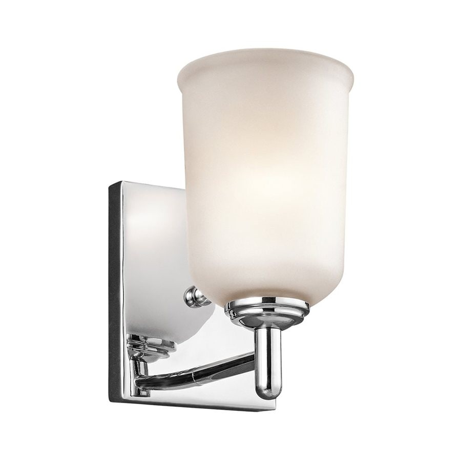 Kichler Lighting Shailene 1-Light 8.25-in Chrome Cylinder Vanity Light