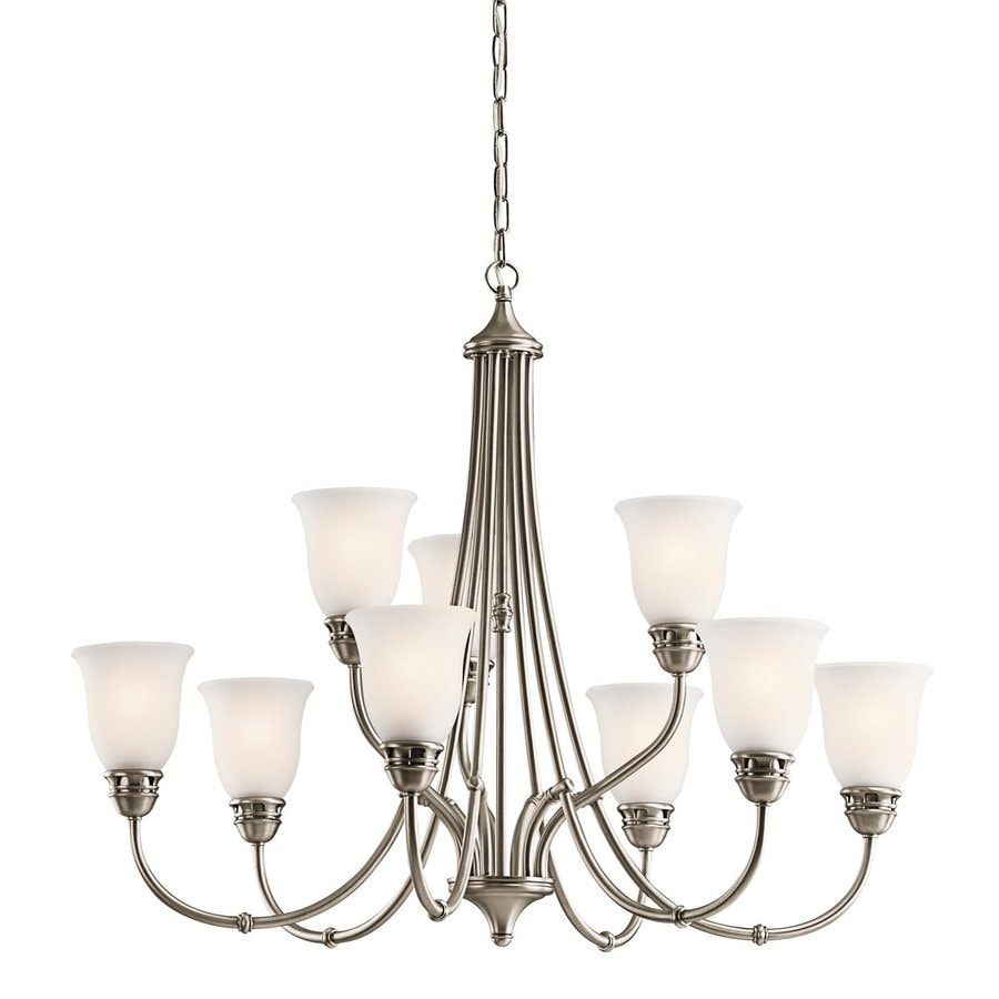 Shop Kichler Lighting Durham 9-Light Antique Pewter
