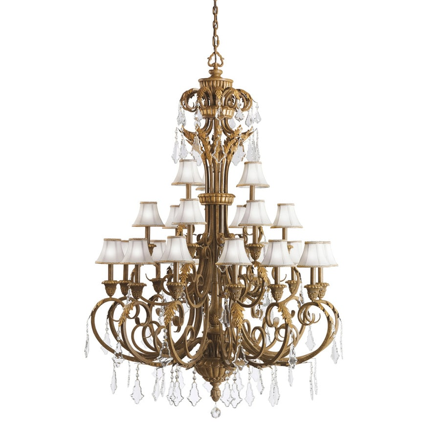 shop kichler lighting 21 light ravenna chandelier at