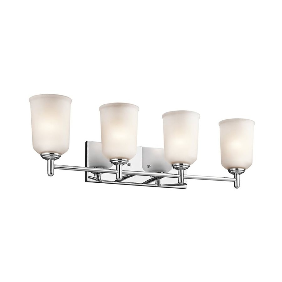Kichler Shailene 4-Light 8.25-in Chrome Cylinder Vanity Light