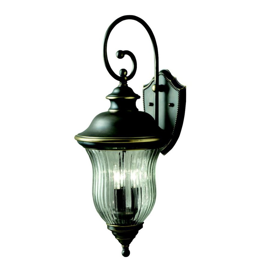 Kichler Lighting Sausalito 28-in H Olde Bronze Outdoor Wall Light
