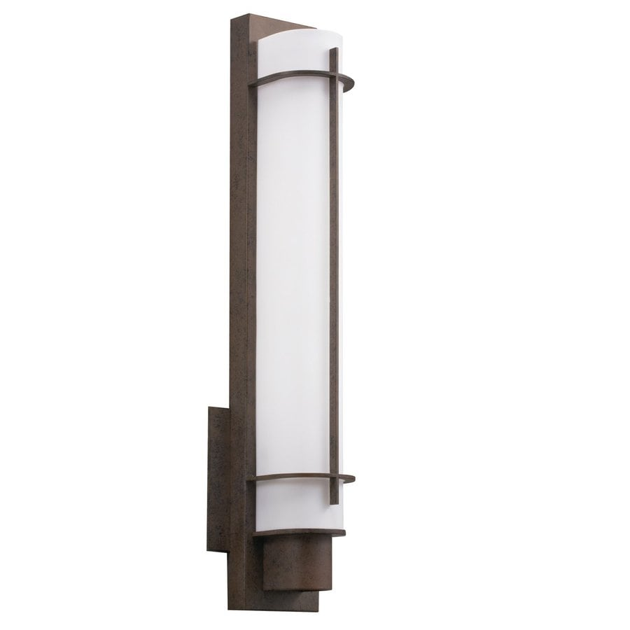 Kichler Visalia 1-Light 21-in Olde Bronze Cylinder Vanity Light