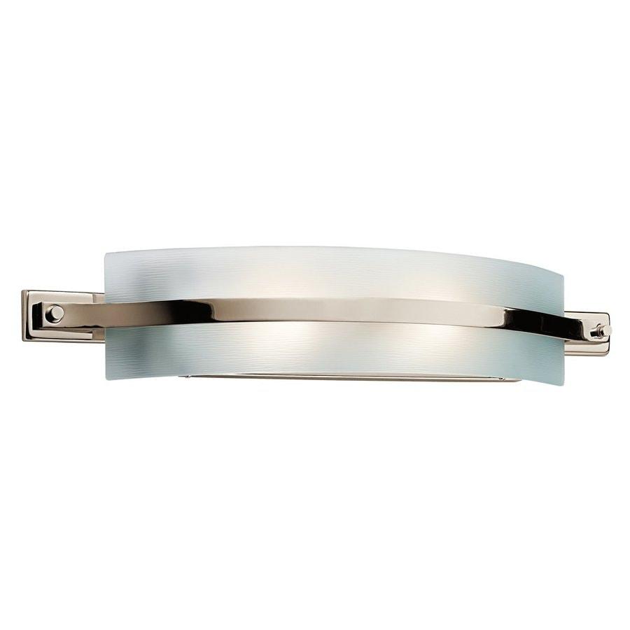 Kichler Freeport 1-Light 4.75-in Polished nickel Rectangle Vanity Light Bar