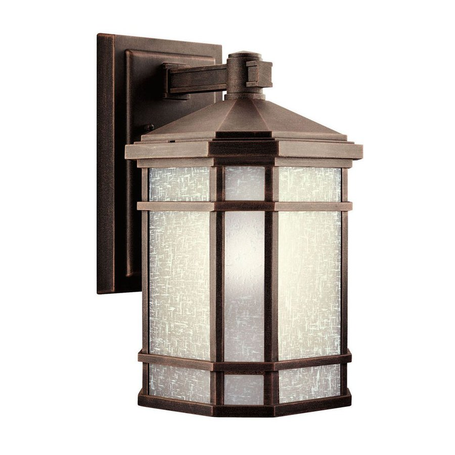 Kichler Lighting Cameron 14.25-in H Prairie Rock Outdoor Wall Light