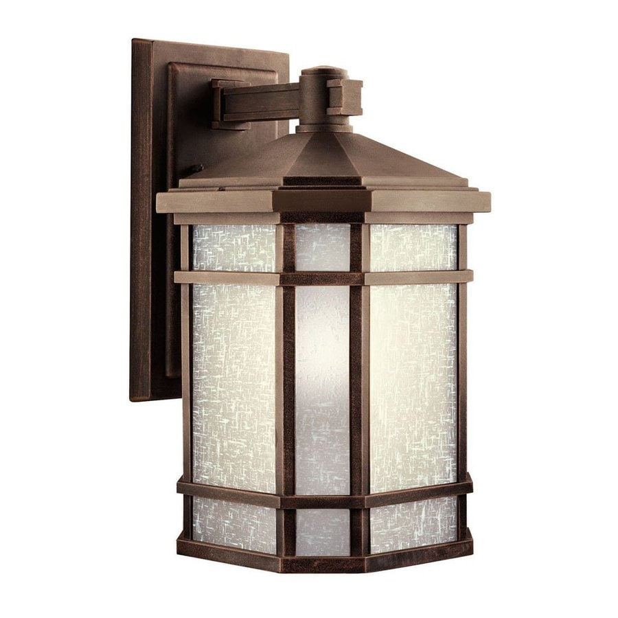 Kichler Lighting Cameron 17.5-in H Prairie Rock Outdoor Wall Light