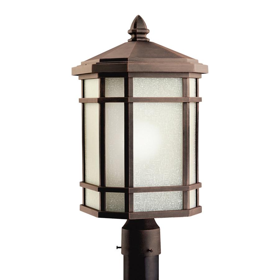 Kichler Lighting Cameron 20-in H Prairie Rock Post Light