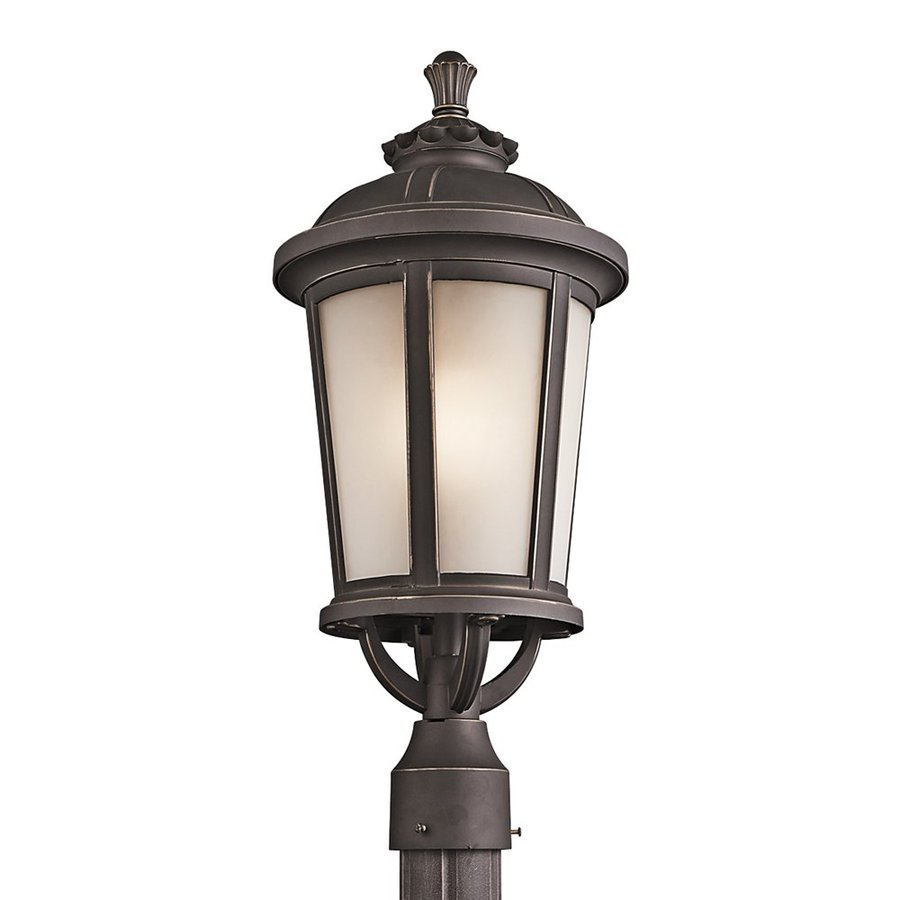 Kichler Lighting Ralston 22.5-in H Rubbed Bronze Post Light