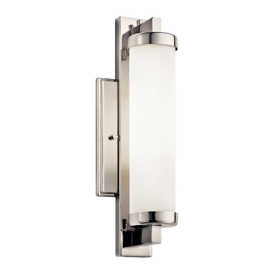 Kichler Jervis 1-Light 14.25-in Polished Chrome Cylinder Vanity Light