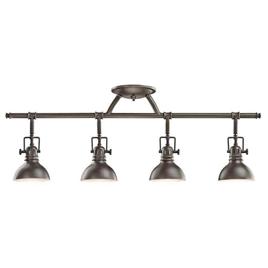 Lowes Track Lighting Fixtures: Shop Kichler Lighting Hatteras Bay 4-Light 31.25-in Olde