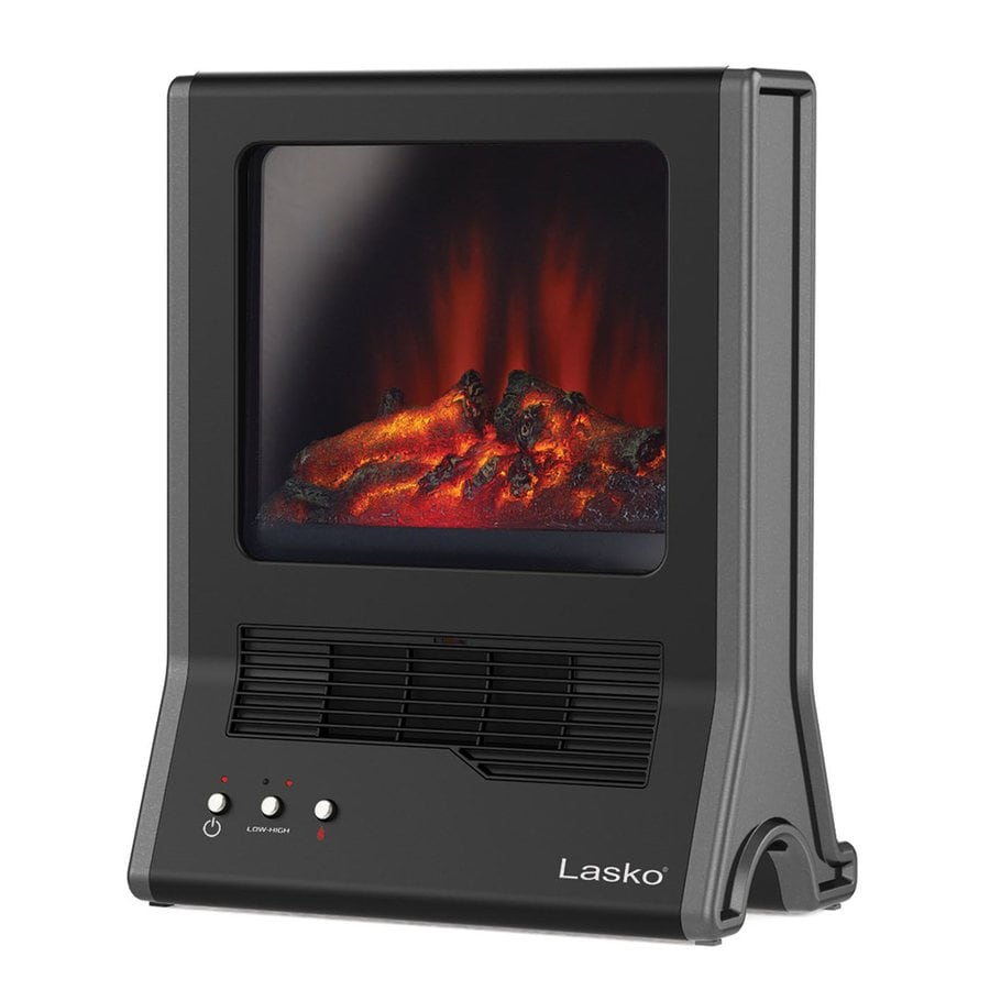 Lasko Ceramic Cabinet Fireplace-Style Electric Space Heater