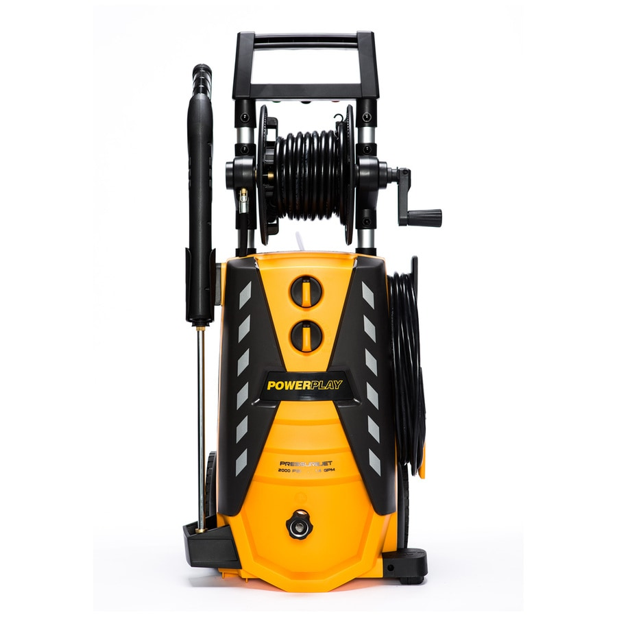 PowerPlay Pressurejet 2000-PSI 1.4-GPM Cold Water Electric Pressure Washer