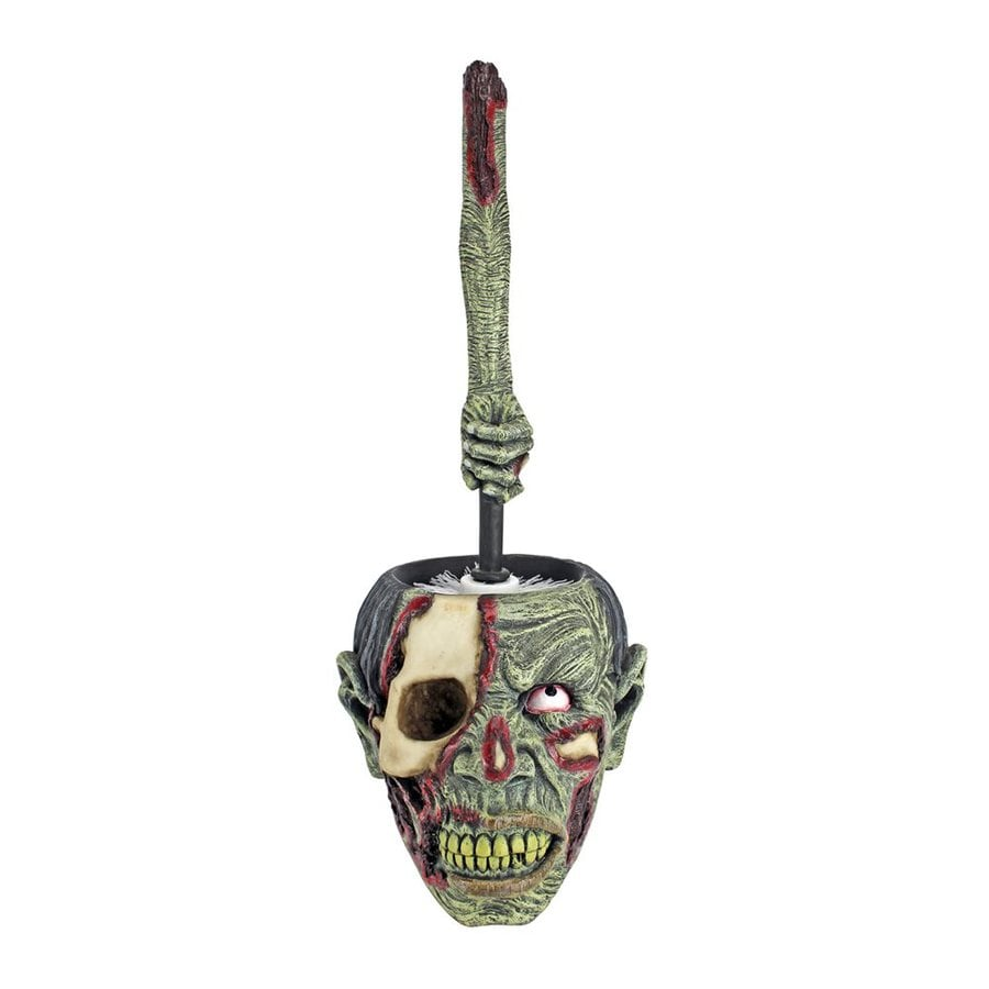 Design Toscano Zombie Flush Zombie Toilet Bowl Brush