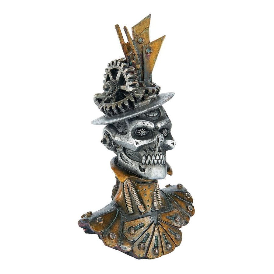 Design Toscano Miss Sophronia and Her Steampunk Bonnet Tabletop Sculpture