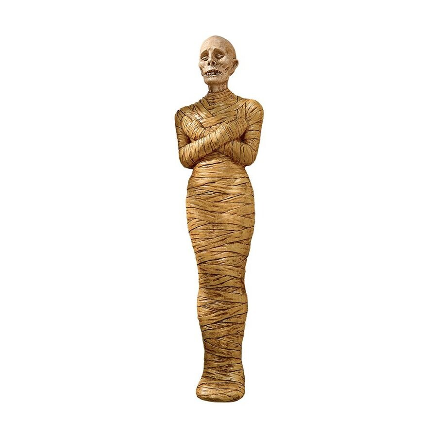 Design Toscano Curse Of The Mummy Wall-Mounted Mummy Sculpture