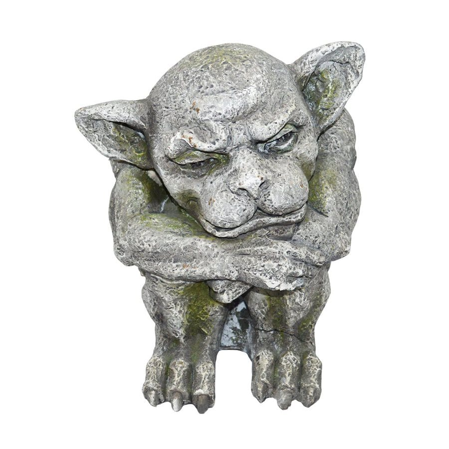 Design Toscano Ashes The Gothic Gargoyle 11-in Garden Statue