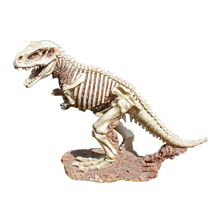 Design Toscano Bad to The Bone T-Rex 14.5-in Dinosaur Garden Statue