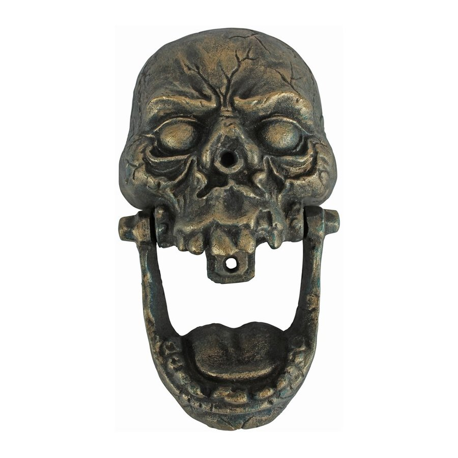 Design Toscano Knock-Jaw Skull Greeter
