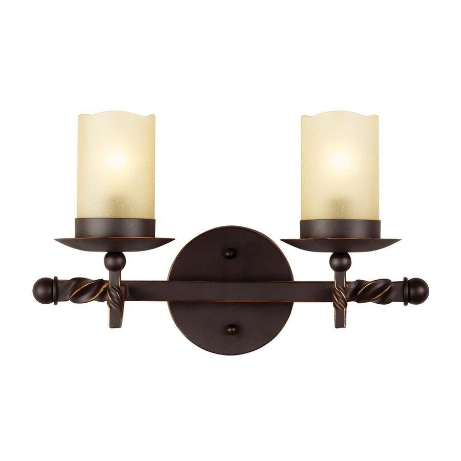 Sea Gull Lighting Trempealeau 2-Light Roman Bronze Vanity Light