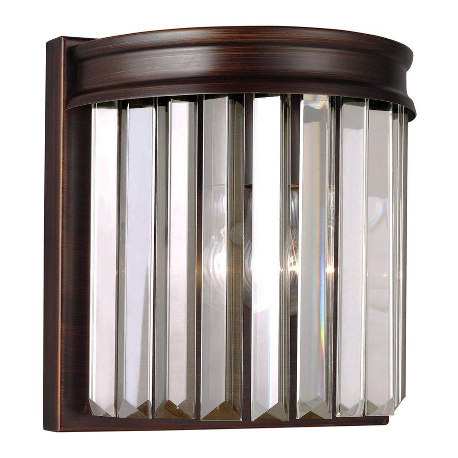 Sea Gull Lighting Carondelet 1-Light 8.375-in Burnt sienna Waterfall Vanity Light