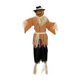 northlight animatronic pre lit musical scarecrow greeter - Lowes Halloween Decorations