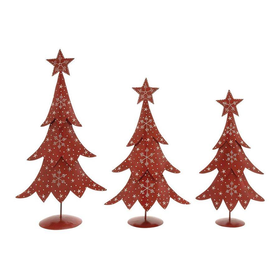 Woodland Imports Winter Scene Christmas Tree