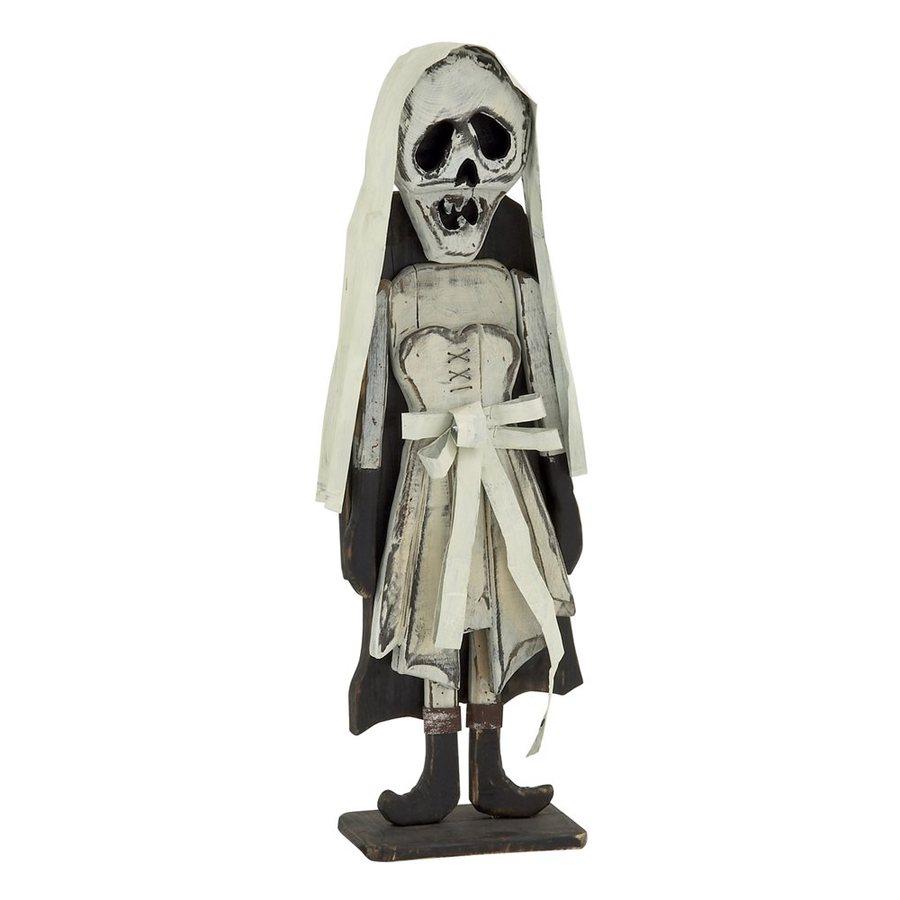 Woodland Imports Skeleton Bride Sculpture