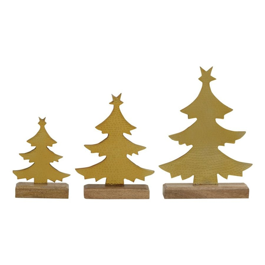 Woodland Imports Winter Scene Christmas Tree