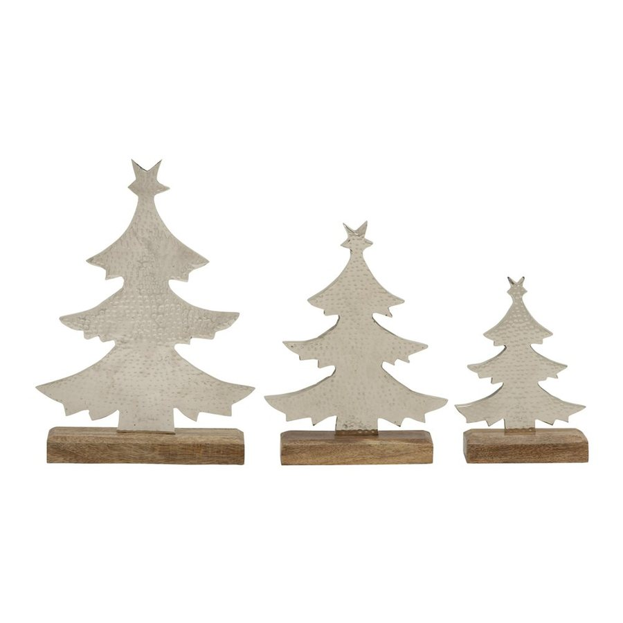 Shop woodland imports winter scene christmas tree at lowes
